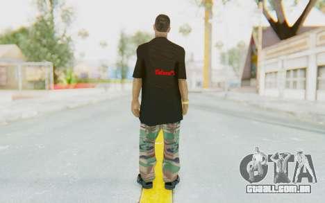 The King Skin para GTA San Andreas terceira tela