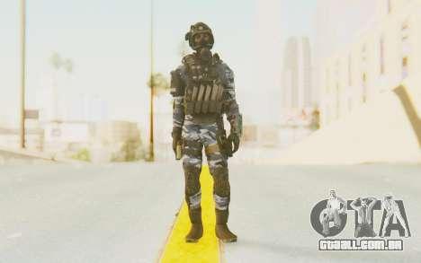 Federation Elite SMG Urban-Navy para GTA San Andreas segunda tela