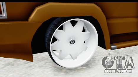 Toyota Kijang Grand Extra with Bike para GTA San Andreas vista traseira