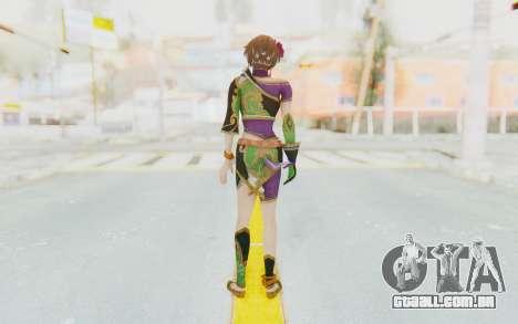 Musou Orochi 2: Ultimate - Sun Shangxiang v2 para GTA San Andreas terceira tela