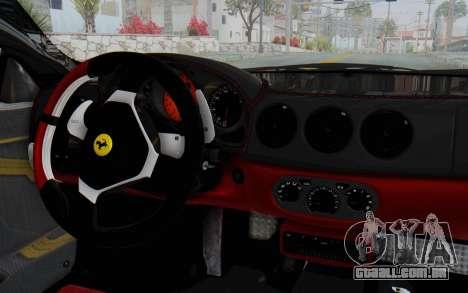 Ferrari 360 Modena Liberty Walk LB Perfomance v2 para GTA San Andreas vista direita