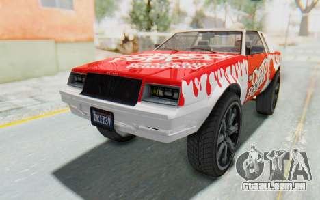 GTA 5 Willard Faction Custom Donk v3 para GTA San Andreas vista superior