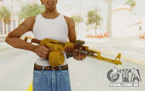 GTA 5 DLC Finance and Felony - Assault Rifle para GTA San Andreas terceira tela