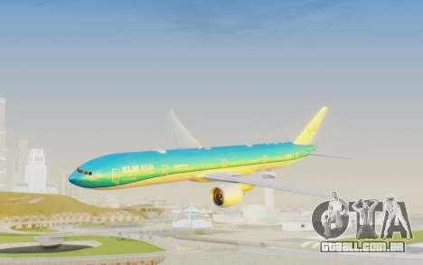 Boeing 777-300ER KLM - Royal Dutch Airlines v2 para GTA San Andreas
