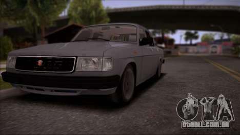 V8 de GÁS 31029 para vista lateral GTA San Andreas