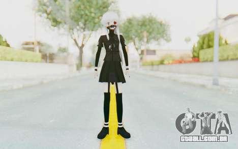 Gasai Yuno Ghoul para GTA San Andreas segunda tela