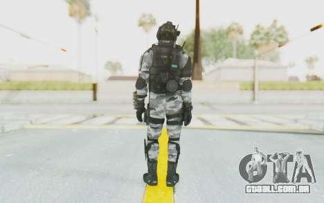 Federation Elite Shotgun Arctic para GTA San Andreas terceira tela