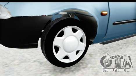 Ford Courier 2016 para GTA San Andreas vista traseira