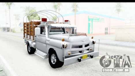 Chevrolet 3100 Diesel v2 para GTA San Andreas vista direita
