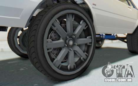 GTA 5 Willard Faction Custom Donk v2 para GTA San Andreas vista traseira
