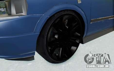 Opel Bertone para GTA San Andreas vista traseira