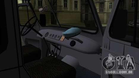 UAZ-469 para GTA San Andreas vista inferior