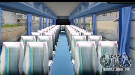 Neoplan Lasta Bus para GTA San Andreas vista traseira