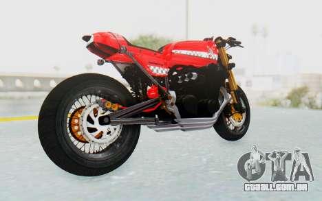Honda CB750 Moge Cafe Racer para GTA San Andreas vista direita