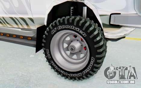 Ikco Super Peykan Pickup para GTA San Andreas vista traseira