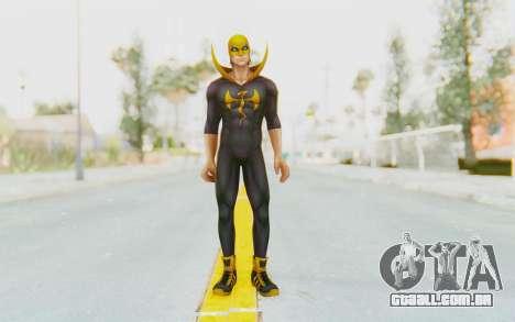 Marvel Future Fight - Iron Fist (ANAD) para GTA San Andreas segunda tela