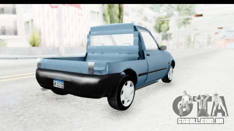 Ford Courier 2016 para GTA San Andreas esquerda vista