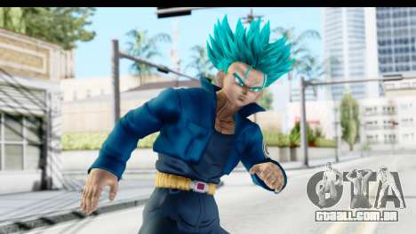Dragon Ball Xenoverse Future Trunks SSGSS para GTA San Andreas