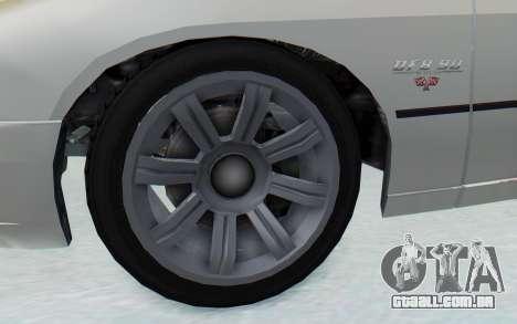 GTA 5 Imponte DF8-90 para GTA San Andreas vista traseira