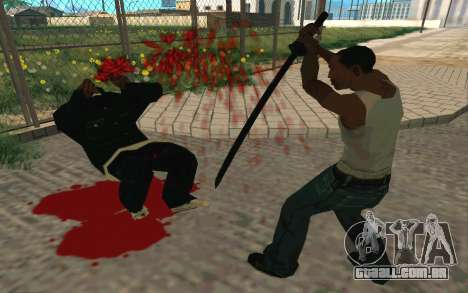 Sword of Blades para GTA San Andreas sexta tela