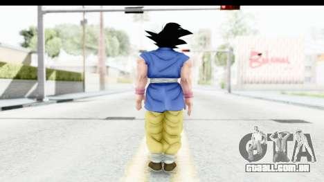 Dragon Ball Xenoverse Goku GT Adult SJ para GTA San Andreas terceira tela