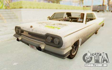 GTA 5 Declasse Voodoo PJ SA Lights para vista lateral GTA San Andreas