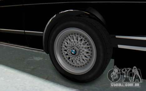 BMW M635 CSi (E24) 1984 IVF PJ3 para GTA San Andreas vista traseira