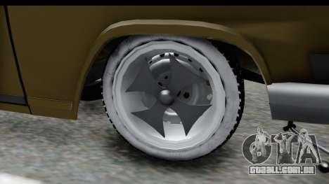 GAZ-21 Hamann H22 para GTA San Andreas vista traseira