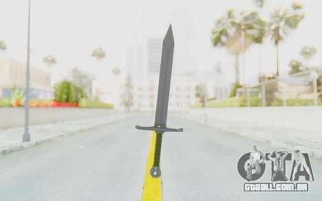 Trunks Del Futuro Katana para GTA San Andreas segunda tela