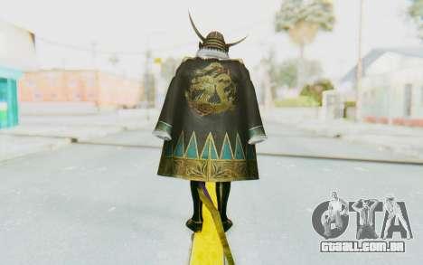 Sengoku Musou 4 - Date Masamune para GTA San Andreas terceira tela