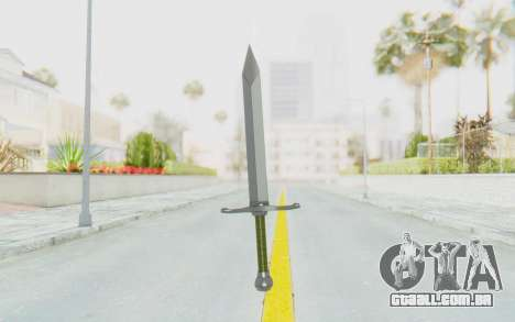 Trunks Del Futuro Katana para GTA San Andreas terceira tela