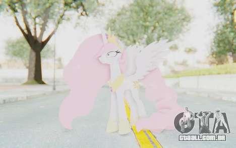 Princess Molestia MLP para GTA San Andreas segunda tela
