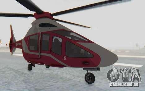 GTA 5 Buckingham Volatus v2 para GTA San Andreas vista direita