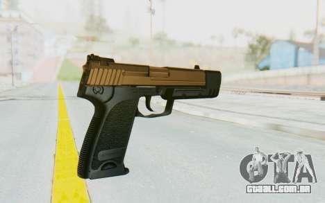 HK USP 45 Sand Frame para GTA San Andreas segunda tela