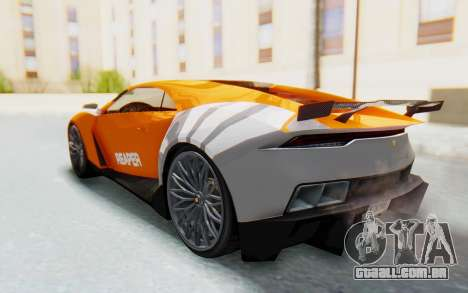 GTA 5 Pegassi Reaper SA Lights para GTA San Andreas vista interior