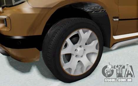 BMW X5 Pickup para GTA San Andreas vista traseira