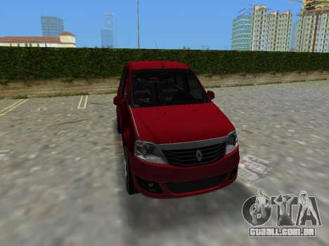 Renault Logan para GTA Vice City