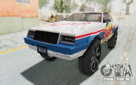 GTA 5 Willard Faction Custom Donk v2 para GTA San Andreas interior