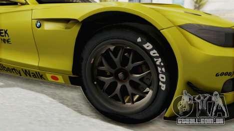 BMW Z4 Liberty Walk para GTA San Andreas vista traseira