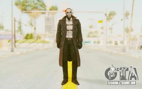 Marvel Future Fight - Punisher (Noir) para GTA San Andreas segunda tela