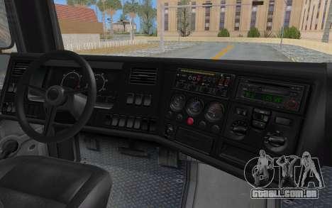 GTA 5 HVY Brickade IVF para GTA San Andreas vista superior