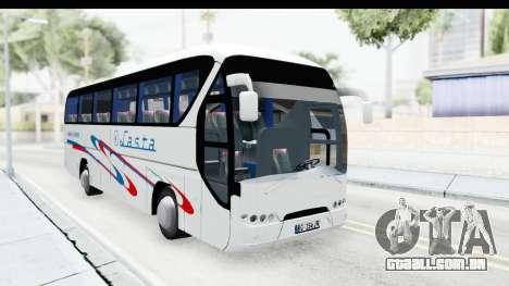 Neoplan Lasta Bus para GTA San Andreas vista direita