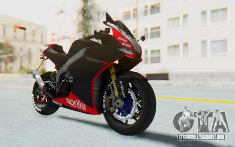 Aprilia RSV4 StreetRace para GTA San Andreas