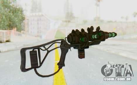 Q-35 Matter Modulator Plasma Rifle para GTA San Andreas segunda tela
