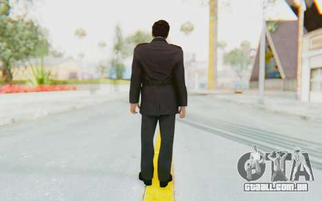 Mafia 2 - Vito Police Outfit para GTA San Andreas terceira tela
