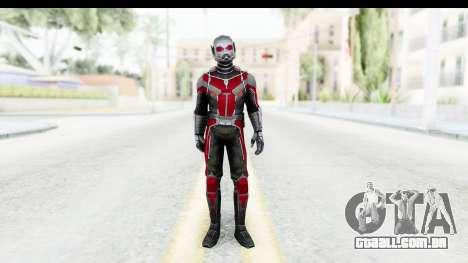 Marvel Future Fight - Ant-Man (Civil War) para GTA San Andreas segunda tela