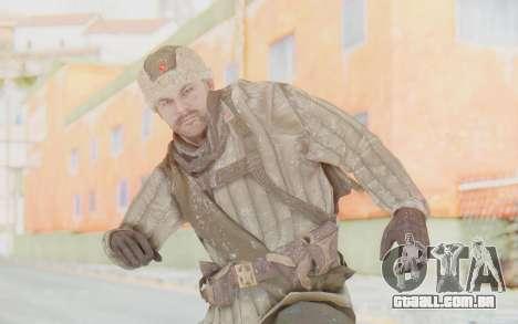 COD BO Dimitri Petrenko Winter para GTA San Andreas