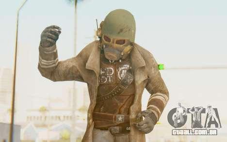 Fallout 4 - Veteran Ranger para GTA San Andreas