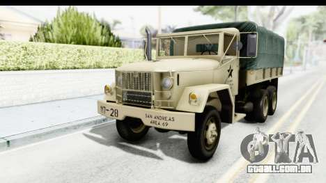 AM General M35A2 Sand para GTA San Andreas
