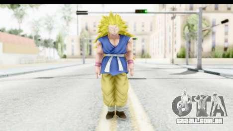 Dragon Ball Xenoverse Goku GT Adult SSJ3 para GTA San Andreas segunda tela